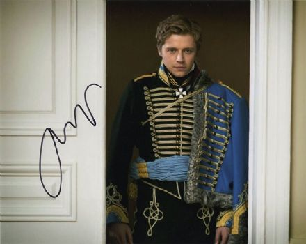 Jack Lowden, War & Peace, signed 10x8 inch photo.